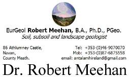 Consultant Geologist Dr. Robert Meehan